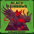 BLACK RAINBOWS - Hawkdope (green fluo) LP