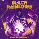 BLACK RAINBOWS - Stellar Prophecy (splatter) LP