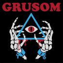 GRUSOM - II (red/blue marbled) LP *BAND EDITION*