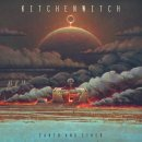 KITCHEN WITCH - Earth And Ether (red/orange blob+black...