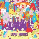 LOW HUMS - Night Magic Wine / Shine Rock (clear) LP