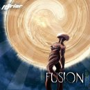 PYRIOR - Fusion (orange/white marbled) LP
