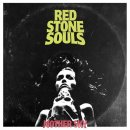 RED STONE SOULS - Mother Sky (red/white/black marbled) LP