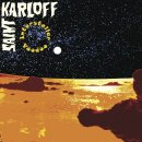 SAINT KARLOFF - Interstellar Voodoo (black/blue merge) LP