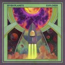 SEVEN PLANETS - Explorer (green multicolour marbled) LP...